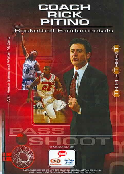 RICK PITINO:BASKETBALL FUNDAMENTALS (DVD)